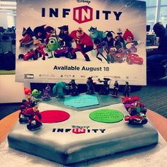 Disney infinite cake. #cakeswag
