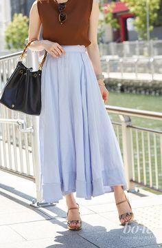 347732e825a3d 夏らしいマキシスカートでつくるリゾートコーデ  7月5日 |bo-te(ボーテ)