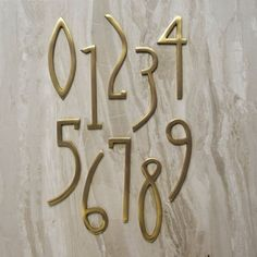 Swap out your dull digits for our art deco inspired house numbers which are sure…
