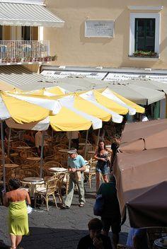 La piazzetta - Capri, Italy