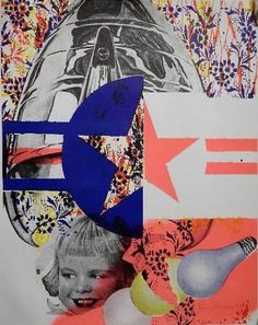 Available for sale from Alpha 137 Gallery, James Rosenquist, Castelli Gallery Poster (Signed) Offset Color Lithograph Poster (Signed & Dated), 27 … Photomontage, Collages, James Rosenquist, Pop Art Artists, Claes Oldenburg, Jasper Johns, Painter Artist, Pen And Paper, Andy Warhol