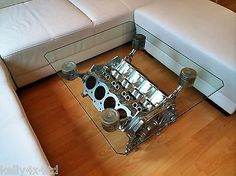 "Rover V8 Engine - Coffee / Occasional Table 95% Upcycled ""Top Gear"" style in Home, Furniture & DIY, Furniture, Tables 