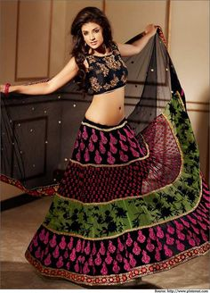 Resham enhanced lehenga saree #LehengaSaree