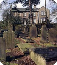 The Bronte home, Haworth, Yorkshire