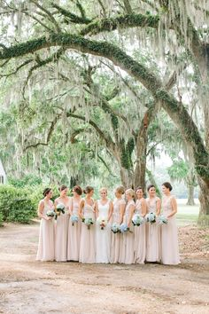 bridesmaid dresses in sand | Ashley Seawell #wedding