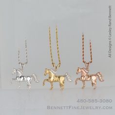 KIVN Fashion Jewelry Cute Sea Steed Horse Pendant Necklaces for Women