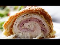 Chicken Cordon Bleu Bake - YouTube