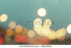 Vintage blur or bokeh traffic light. Vintage background for web design.