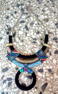 Choker Rope Necklace Statement Necklace Choker necklace