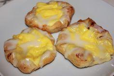 Wienerbrød med Vaniljekrem på 1-2-3