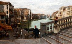 Guglielmo Ciardi (1842 – 1917) Canal Grande Venezia