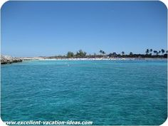 Great Stirrup Cay....Norwegian Cruise Line's own private Island...a little piece of Heaven!