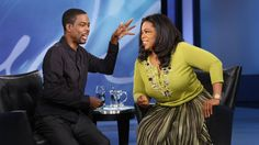 Watch Chris Rock's reaction when he finds out Oprah's hair is all hers. I love my hair too...its all mine!!!