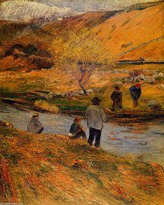 Paul Gauguin - Les Pêcheurs Bretons, date unknown