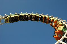 Six world-class roller coasters at Morey's Piers!