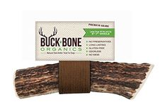 100% Natural Shed Grade A Elk Antler Dog Chew Treats ~ Large Size, Dogs 40 lbs and Up, Long-Lasting, Odor-Free, Gluten Free, Healthy, Single Ingredient, Made in the USA, Satisfaction Guaranteed Buck Bone Organics http://www.amazon.com/dp/B00U2QVARY/ref=cm_sw_r_pi_dp_dE4Vwb1S0PWVD