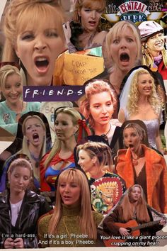 Phoebe Buffay from F.R.I.E.N.D.S played by Lisa Kudrow! <3