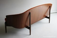 Mid Century Modern Rare Seymour James Wiener Sofa For Kodawood With Cato Fabric   Used Mid-Century Modern Furniture Auctions
