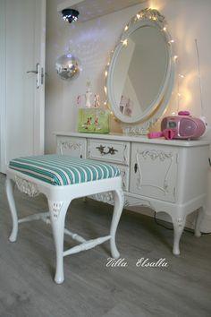 Villa Elsalla: Kampauspöytä prinsessalle