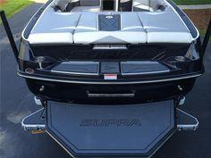 2014 Supra SC450 Corvette LS3 Black Metal Flake! – used Supra, used ski boats, used wakeboard boats, ski boats