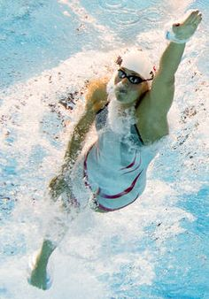 Denmark's Lotte Friis competes in the women's 800-m freestyle heats