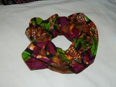 African Scrunchie by Chillingworths on Etsy