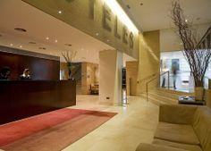Recepción Hotel Zenit Coruña