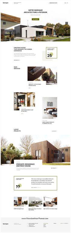 Web Design on Inspirationde Layout Web, Website Layout, Layout Design, Website Ideas, Layout Site, Website Web, Architecture Company, Cultural Architecture, Education Architecture