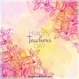 Teachers inspire hope, ignite the imagination, and instill a love of learning. Academia wishes all the Teachers, A Happy Teacher's Day. Book Background, Happy Teachers Day, Teachers' Day, Watercolor Drawing, Backgrounds Free, Vector Free, Wallpaper, Drawings, Illustration