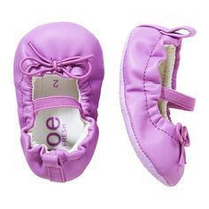 Baby Girls' Pre-walker Ballet Shoe