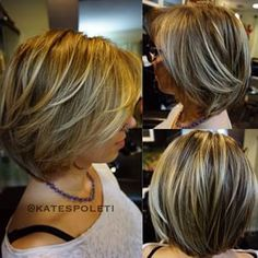 Pingram.me - tag:katespoleti Sombre Hair, Hair Color Balayage, Blonde Sombre, Blonde Hair, Medium Hair Cuts, Short Hair Cuts, Short Hair Styles, Layered Bob Hairstyles, Pretty Hairstyles