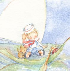 Use for Party Invitations...becky kelly note cards | Sailing Away Set