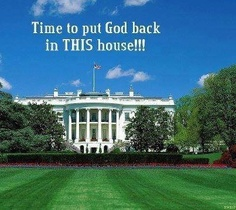 Put God back in THIS house!