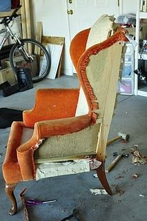 How to redo a chair