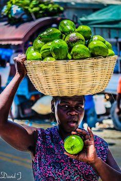 """Sales Lady"" by David Jesson - Haiti. i have visited haiti since 1966"