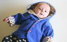 Een klein jasje voor een klein meisje Baby Sewing, Bb, Kids, Young Children, Boys, Children, Kid, Children's Comics, Child