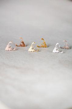 Lovoda - Deer Head Earrings, $12.95 (http://www.lovoda.com/deer-head-earrings/)
