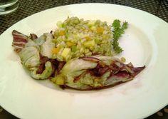 Farro Dish enjoyed at Le Case Agriturismo near Assisi