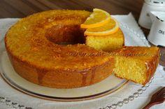 Bolo de laranja com casca | Receitas e Temperos