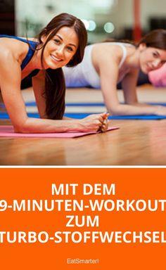 Mit dem 9-Minuten-Workout zum Turbo-Stoffwechsel   eatsmarter.de