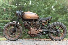Una bella moto