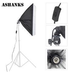 check price ashnaks photo studio softbox photographic equipment tent 50x70cm with single lamp holder #studio #equipment