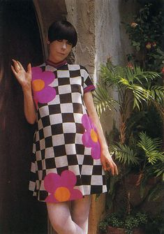 Peggy Moffitt.....this is soooo laugh-in and sooo  Hullabalooo... any 69 eers  will remember ....