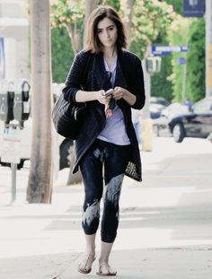 Lily Collins is seen leaving the gym in West Hollywood on May 9th, 2014 http://www.epicee.com