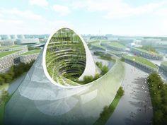 カザフスタンで2017年開催、アスタナ万博の建築デザイン案がオーバースペック過ぎる 8