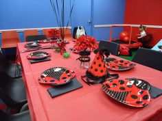 Ladybugs Birthday Party Ideas | Photo 14 of 28 | Catch My Party