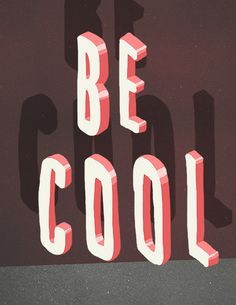 Typography Summer by Matt Chinworth