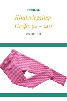 Kinderleggings Freebook