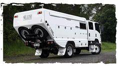 All Terrian Warriors builder campervans spare wheel mount