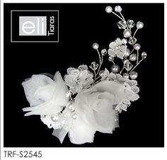 Eli Tiaras, Wedding hair flowers Collection.